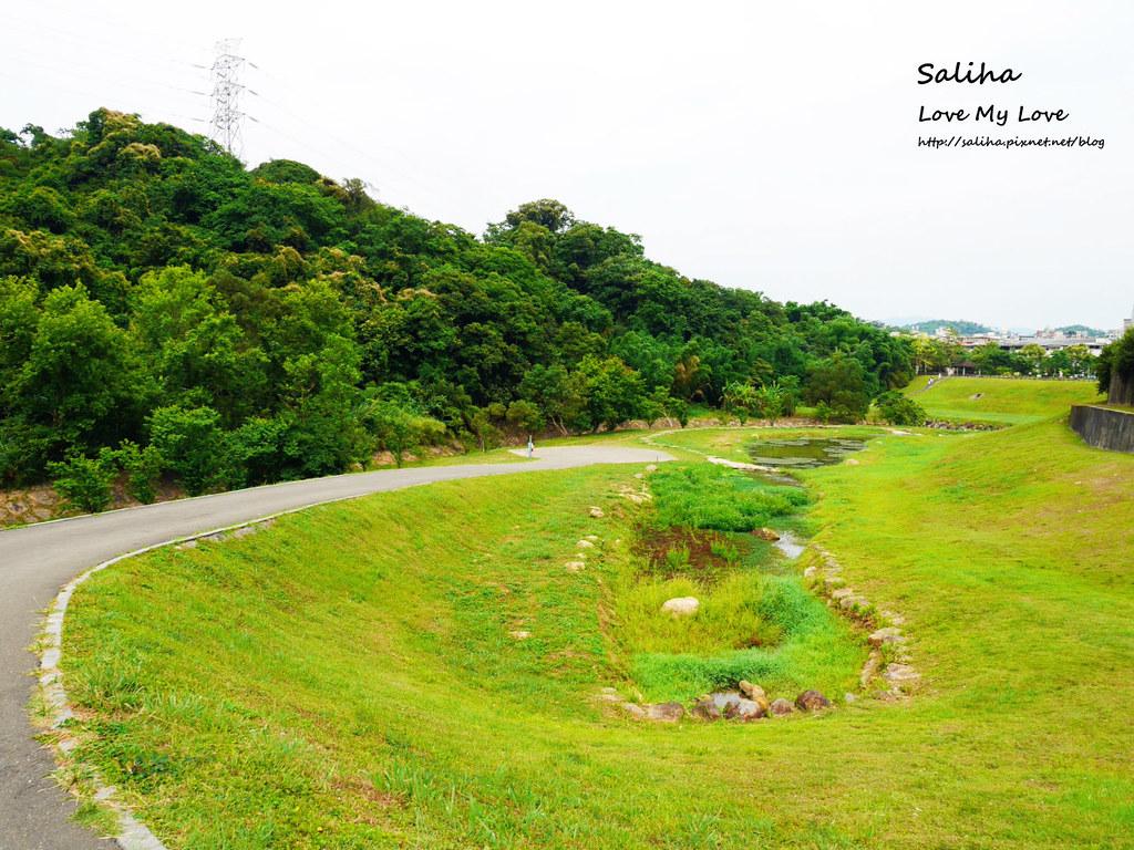 台北內湖一日遊踏青郊遊野餐景點推薦大溝溪親水公園  (2)