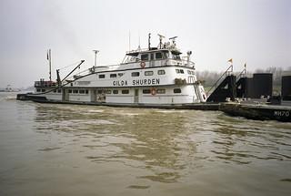 a1c059: Gilda Shurden upbound at L&I Bridge, Louisville