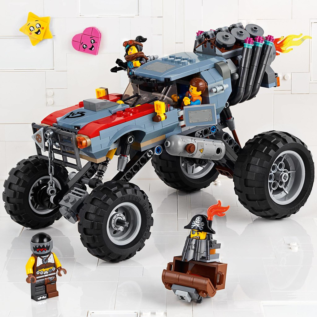 Emmet and Lucy Escape Buggy