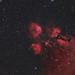NGC6334 - Cat`s paw nebula
