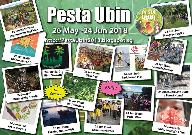 Pesta Ubin 2018: 18-24 June