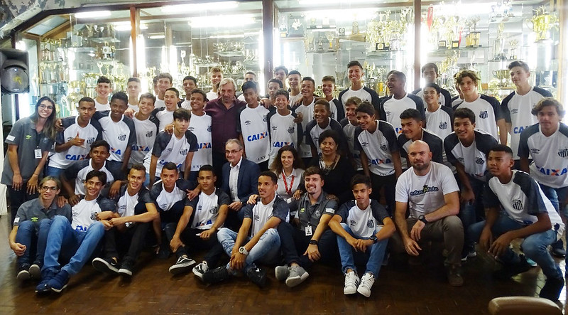 Palestra Educatleta/Sindicato de Atletas SP no Santos FC