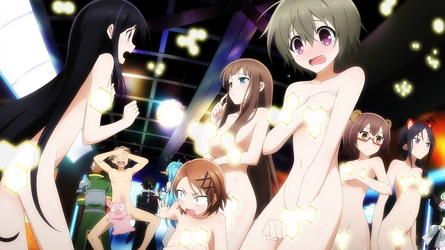 Accel World vs Sword Art Online - No Clothes