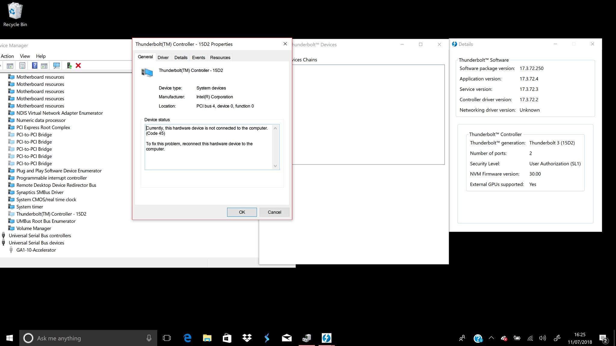 HP Spectre x360 15 CH with HP Omen Accelerator – Thunderbolt Windows