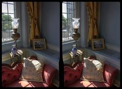 Casa Loma Lounge 3-D / CrossView / Stereoscopy / HDRaw