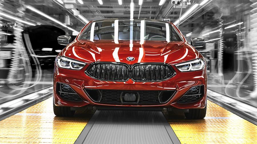 BMW serija 8 proizvodstvo 3