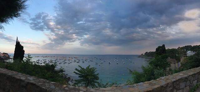 friday, the view, mediterranean sea, calella de palafrugell