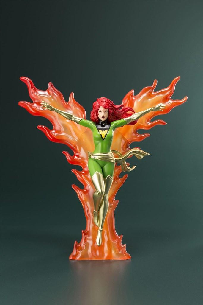 「I am Phoenix!!」 壽屋 ARTFX+ 系列 Marvel Universe【鳳凰】フェニックス