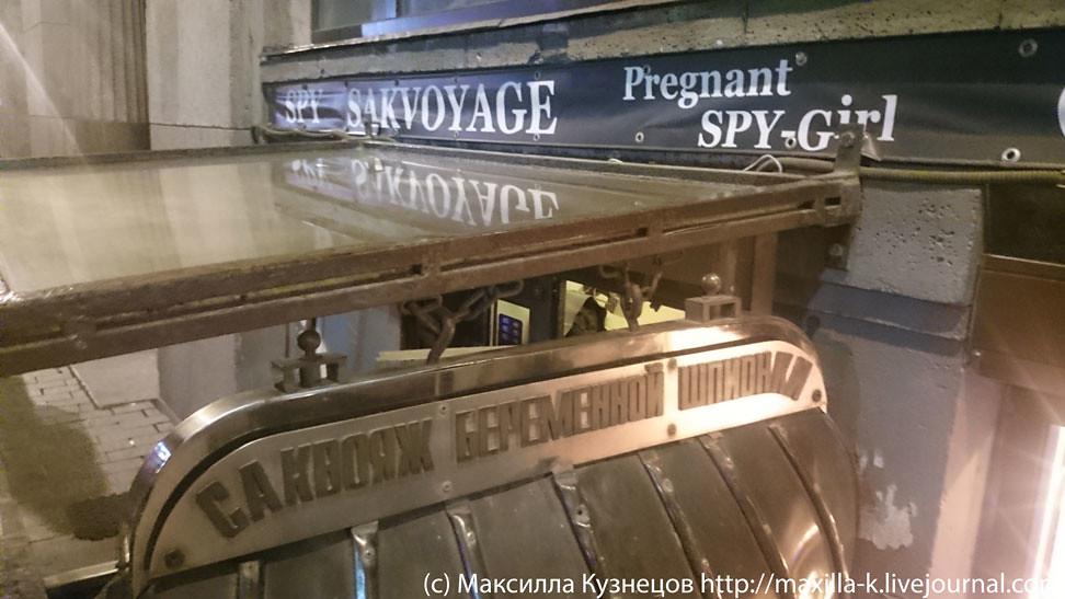 Саквояж беременной шпионки