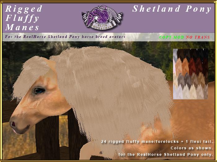 e-rh-shetland-mane-FluffyManes - TeleportHub.com Live!