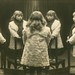 Mirror Photo of a Little Girl Standing on a Chair by Alan Mays