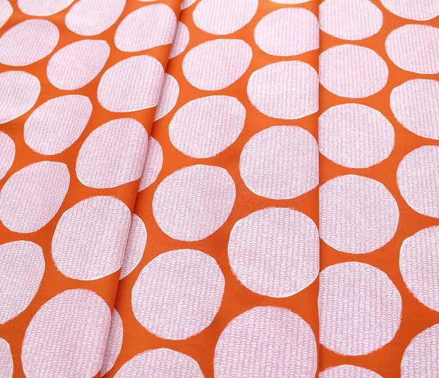 Cloud9 Fabrics Terrestrial 201401 Disguise Orange