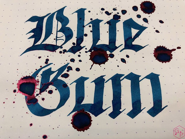 Blackstone Blue Gum Ink Review @AppelboomLaren 6