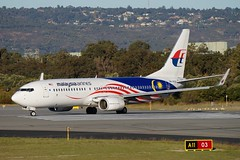 9M-MXS Malaysia Airlines Boeing B737-8H6