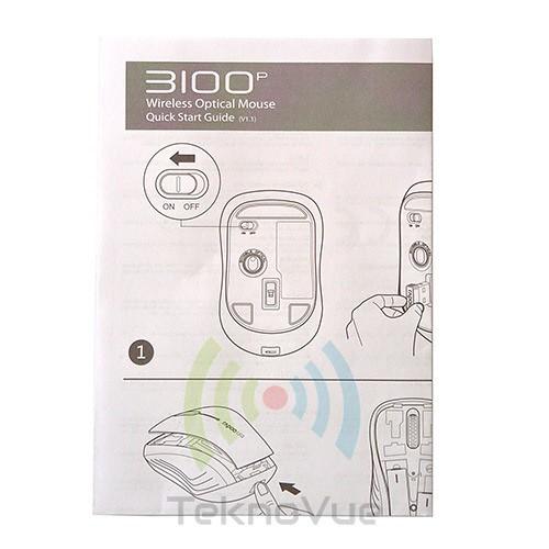 Rapoo 3100P - Manual