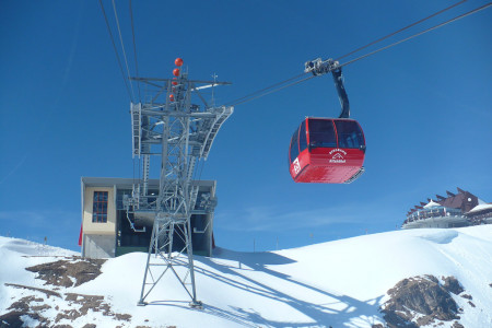 Safari Express – rekordní lanovka 3S v Kitzbühelu