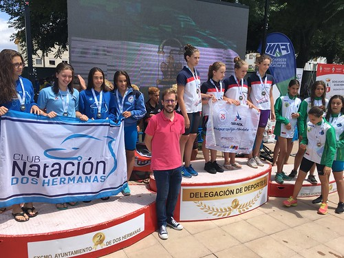 Campeonato de Natación Andaluz alevín en Los Montecillos