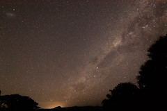 Milky Way over Border Ranges