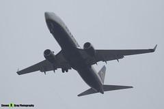 EI-FRC - 62690 - Ryanair - Boeing 737-8AS - Donington - 180402 - Steven Gray - IMG_8559