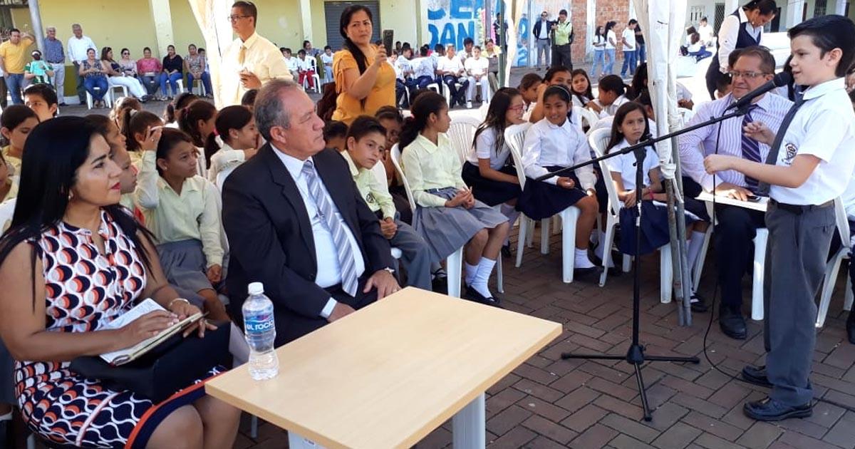 Exitoso festival inter escolar de oratoria