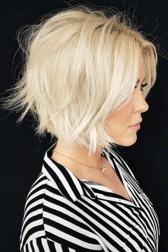 The Most Common Medium Haircuts In Women -Choose One 5