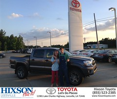 #HappyBirthday to Cody from Christopher Cosby at Hixson Toyota of Leesville!