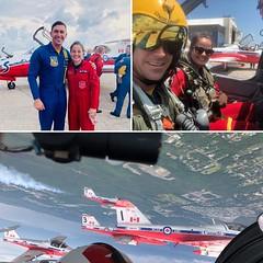 Captain Sarah Dallaire Canadas second female Snowbird pilot