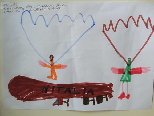 Diego e Paola col paracadute