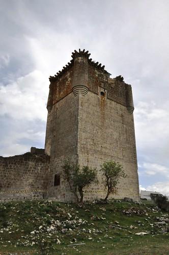 Galve de Sorbe (Guadalajara-España). Castillo de los Zúñiga. Torre del homenaje