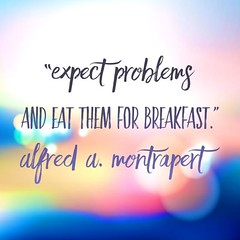 """Expect problems and eat them for breakfast."" :raised_hands::muscle::clap: . . . . . #WednesdayWisdom #motivation #team #goforit #Atlanta #Success"