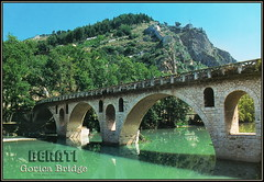 6570 R Albania Berati Ura e Gorices The Gorica bridge  Berat  grč. Βεράτι Verati  ARBA Editions