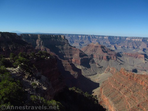 Views to the left of Honan Point on the North Rim of Grand Canyon National Park, Arizona