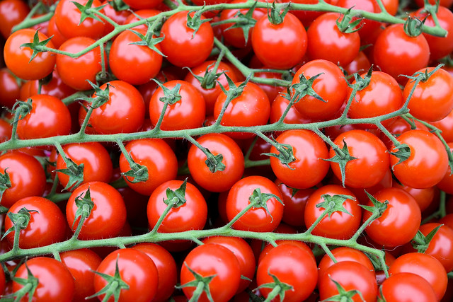 Tomatoes at Sarlat Market, South West France #tomatoes #sarlat #market #farmersmarket #france #dordogne