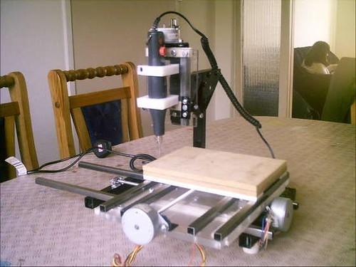 Drone Homemade : desktop cnc machine