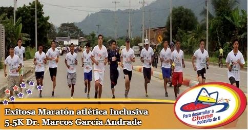 Exitosa Maratón atlética Inclusiva  5.5K Dr. Marcos García Andrade