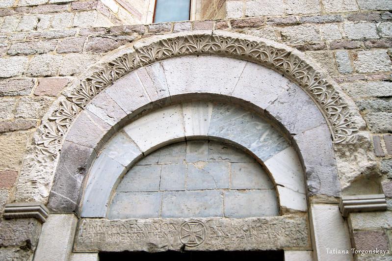 Фрагмент фасада церкви Св. Марии Речной