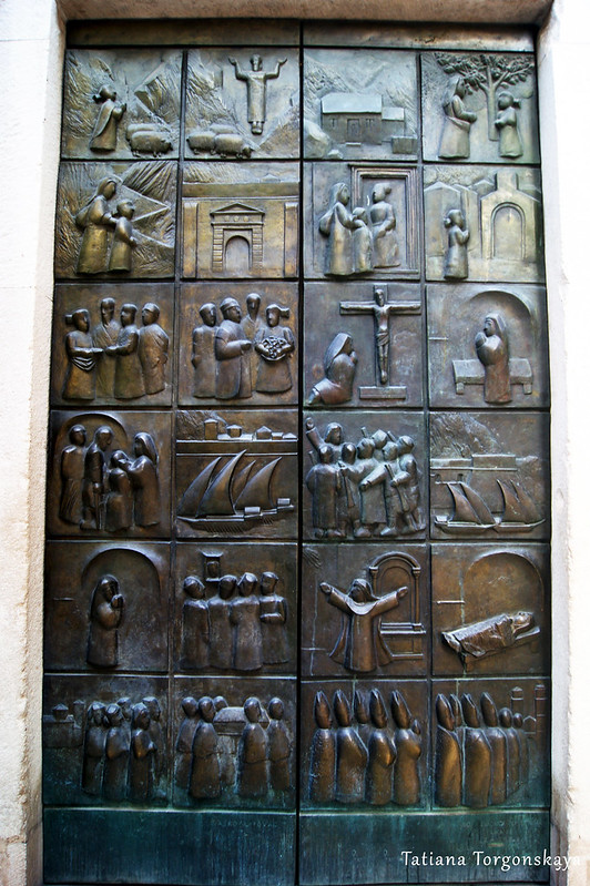 Двери церкви Св. Марии Речной