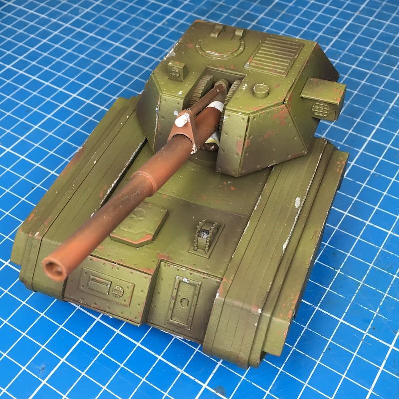 Lasercut basilisk tank green-7