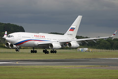 Ilyushin Il-96-300PU RA-96016 Special Flight Squadron Russian Governme