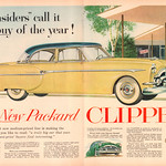 Sat, 2018-02-24 15:11 - 1953 Packard Clipper Advertisement Life Magazine June 15 1953