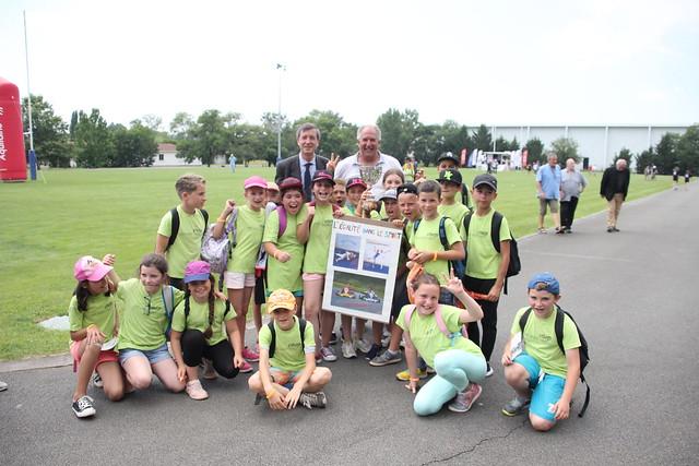 Journée Olympique et Paralympique du sport scolaire au CREPS de Bordeaux