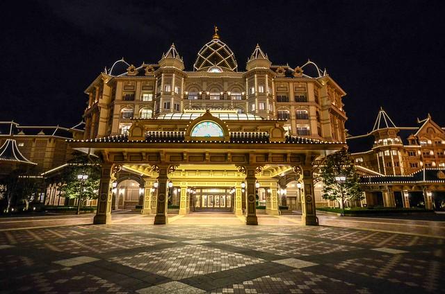 Back of Tokyo Disneyland Hotel TDR