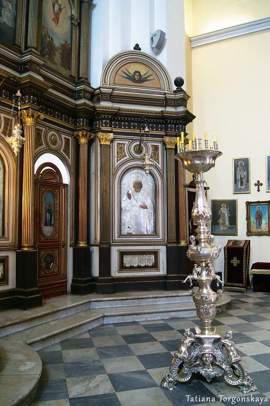Часть иконостаса в церкви Св.Николая