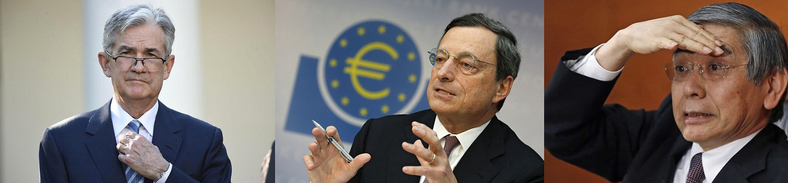 Powell-Draghi-Kuroda