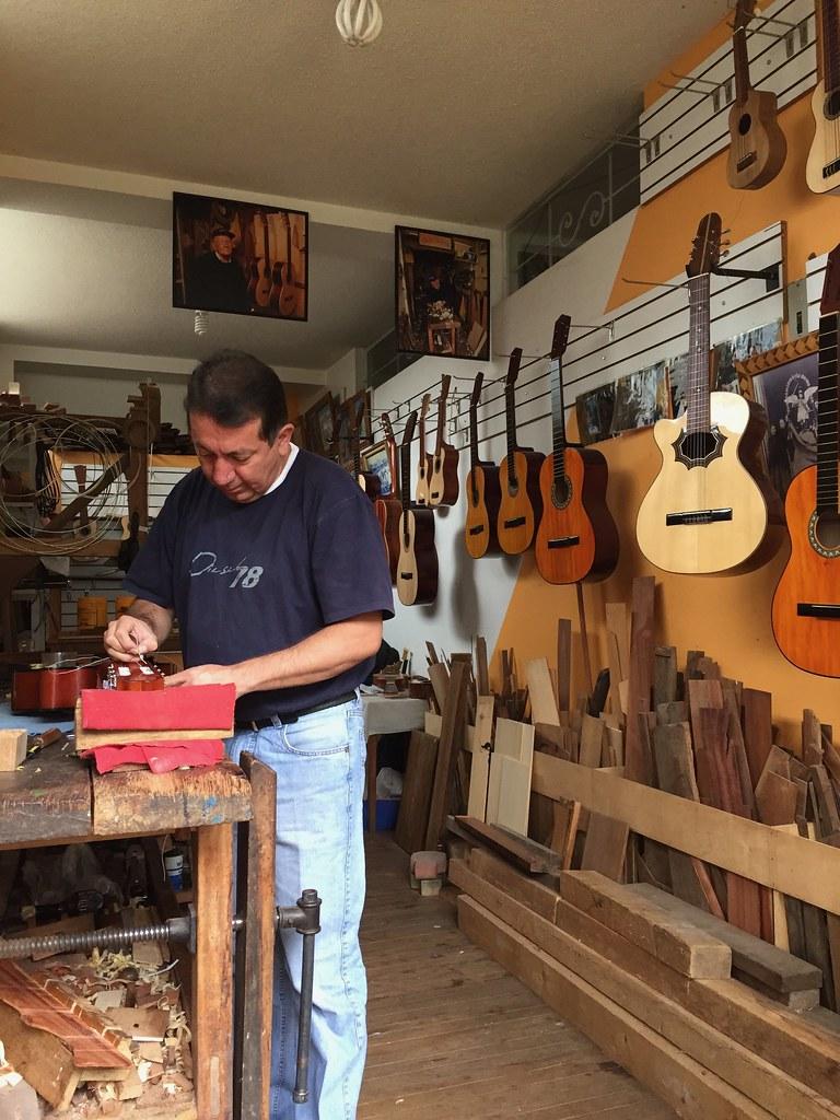A Master at work - Baños, Ecuador