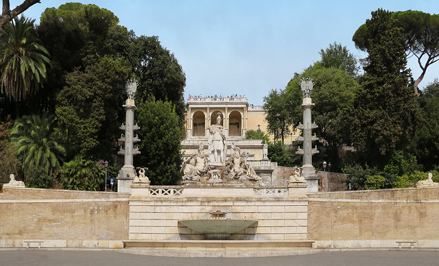 Fountain of the Goddess of Rome