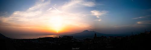 Vesuvio al tramonto