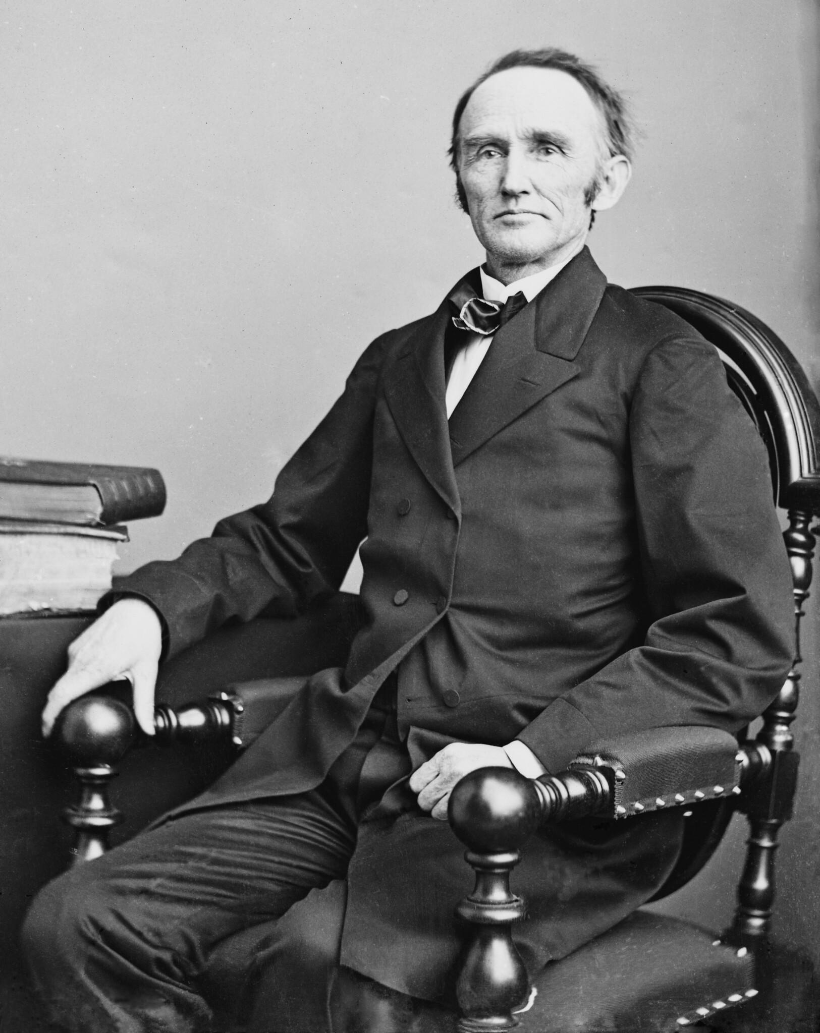 Postmaster General Montgomery Blair, circa 1865-1866.