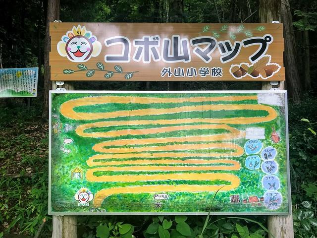 大茂山 コボ山マップ