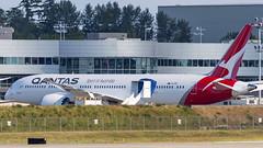 Boeing 787-9 Dreamliner VH-ZNE Qantas